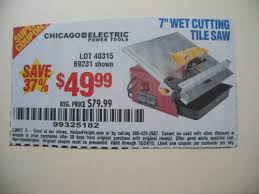 Harbor Freight Tile Saw 10 by Harbor Freight Tools Coupon Database Free Coupons 25 Percent