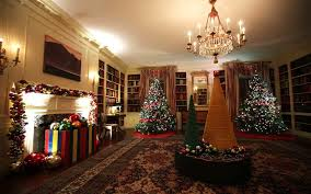 Silver Tip Christmas Tree Los Angeles by The White House Holiday Decorations For The Obama Family U0027s Last