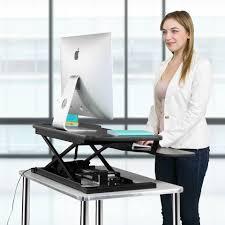 Standing Desk Top Extender Riser by Versadesk Power Pro Black 36