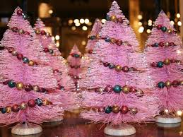 Evergleam Pink Aluminum Christmas Tree by Pink Christmas Decorations Wallpaper Wide Hd Wallpapers High