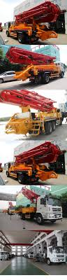 100 Concrete Pump Truck For Sale High Performance Mounted Open Hydraulic Boom