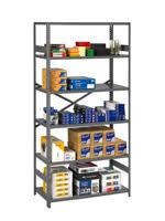 Tennsco Metal Storage Cabinet 36x24x72 Black by Tennsco Storage Made Easy Shelving