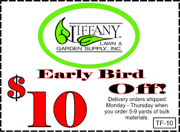 Coupons - Tiffany Lawn & Garden Supply High Quality Organic Ftilizer And Garden Supplies Welcome You Have Discovered Black Jungle Exotics The Natural Choice Outlet Coupon Codes 2018 Columbus In Usa 20 Off Any Single Item Promos Midwest Gardeners Supply Coupon Codes Ttodoscom How Can Tell If That Is A Scam Reading Buses Promo Code Supply Company View Modern Rooms Colorful Design Coupons Promo Shopathecom Upcodelocation Urban Farmer Seeds