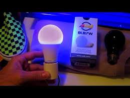 led blacklight bulb review 7watt adj blb7w black light ultraviolet