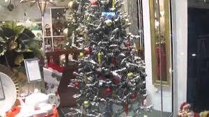 Christmas Tree Flocking Spray Uk by Christmas Tree With Snow Youtube