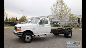 1996 Ford F450 SD Cab & Chassis For Sale By Truck Site - YouTube