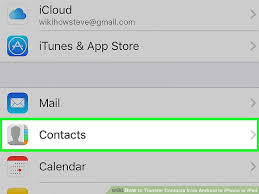 How to Transfer Contacts from Android to iPhone or iPad 15 Steps