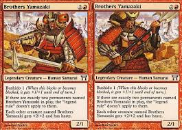best edh generals to run side by side magictcg