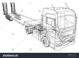 Low Bed Truck Trailer Abstract Drawing Stock Vector (Royalty Free ... Nice Tanker Truck Coloring Pages Vehicles Drawing At Getdrawings Com Vintage Truck Drawing Custom Pickup By Vertualissimo Fire Police Car Ambulance And Tow Drawings Set Sketch Of Heavy Printable Cstruction Trucks Valid For Car Suv 4x4 Line Draw Rent Damage Vector Image On Vecrstock How To Indian Learnbyart Free For Kids Download Clip Art Diesel Step Transportation Free Hd Taco Vector Images Library Not The Usual But I Thought It Looked Cool My