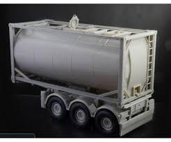 1:24 Tecnokar Trailer W/ 20ft Tank - Truck/Trailers/Accessories 1:24 ...