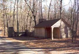 We think they should make this gatehouse one of the rental cabins The road does see a little traffic but not very much This road goes to the primitive