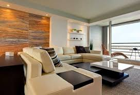 Modern Apartment Living Room Wall Decorating Ideas Design By DEN Architecture Home Reviews