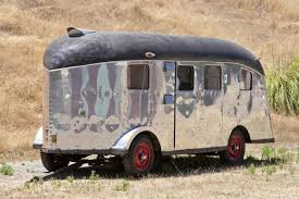 Charles Lindberghs Strangely Wonderful 1939 Travel Trailer Is Headed To Auction