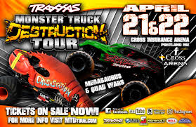 100 Monster Truck Show Portland TRAXXAS Destruction Tour Downtown
