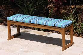 SALE Sunbrella 60in Backless Bench Cushion