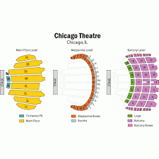 Oriental Theatre Chicago Seating Map