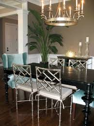 regency dining chairs dining room tropical with bamboo chairs