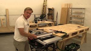 Sawstop Cabinet Saw Used by Sawstop Jobsite Saw What I Really Think Youtube