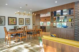 Kansas City Decorating Art Dining Room Midcentury With Open Floor Plan Window Cleaners Table