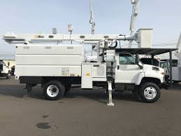 100 Forestry Truck For Sale 2006 GMC C7500 Altec LRV55 With 60ft WH