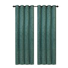 Blue Crushed Voile Curtains by Lilac Curtains U0026 Drapes Window Treatments The Home Depot