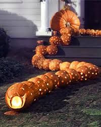 Puking Pumpkin Pattern by P I G T O W N D E S I G N October 2007