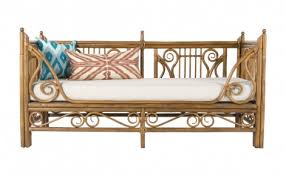Perfect Vintage Rattan Outdoor Furniture Daybed Jayson Home