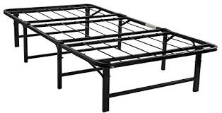 Platform Metal Bed Frame by Merax Platform Metal Bed Fram And Mattress Foundation Adjustable