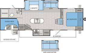 5th Wheel Campers With Bunk Beds by 2016 Jayco Jay Flight 29bhds Travel Trailer 9 Kuhl U0027s Trailer