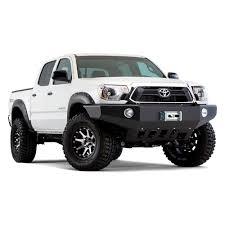 100 Truck Flares Bushwacker Toyota Tacoma 2012 Pocket Style Matte Black Fender