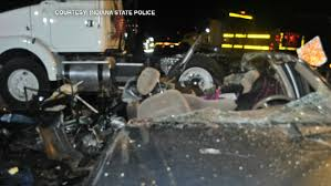 100 Truck Accident Chicago Woman Killed When Semi Runs Over Car In NW Indiana