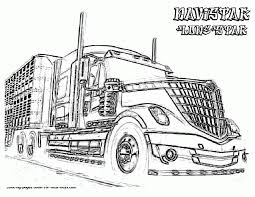 Top Semi Truck Coloring Pages O Val Me #19156 | Theinternetvshollywood