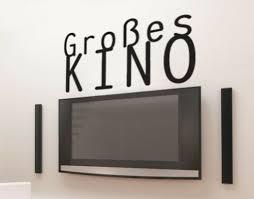 wandtattoo großes kino heimkino sprüche wohnzimmer kino tv