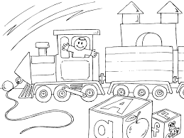 Impressionnant Modele Coloriage Train Readityourselfnet