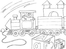 Dessins Gratuits À Colorier Coloriage Locomotive À Imprimer à