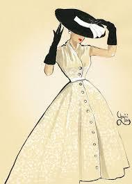 Best 25 Vintage Fashion Sketches Ideas On Pinterest