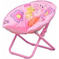 peppa pig collapsible saucer chair pink walmart com