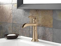 Delta Lahara Faucet Champagne Bronze by Bathroom Faucets Oil Rubbed Bronze Centerset Delta Bathroom