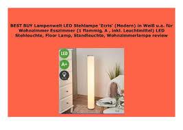 big sale lenwelt led stehle ecris modern in wei