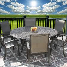 8 Person Patio Table by Nassau 64 64 Square Patio 9pc Dining Set For 8 Person With Fire