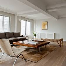 Sofa Creations San Rafael by Contemporary Living Room Wtih White Oak Flooring Furnished Among