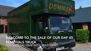 100 Service Trucks For Sale On Ebay Leyland Daf 45 Removals Truck For Sale For Sale With Mikeedge7 YouTube