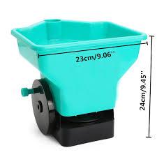 Seeder Spreader 3L Seed Sower Fertilizer Plastic Hand HeldLawn