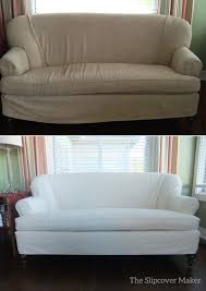 Sure Fit Stretch T Cushion Sofa Slipcover by Furniture Slipcovers For 3 Piece Sectional Sofas Slipcovers For