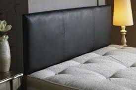 Black Leather Headboard With Diamonds by King Size Leather Headboards Foter