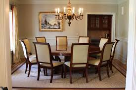 An 88 Inch Round Perimeter Dining Room Table And Chairs Delivered In Northern NJ Are Available At AntiquePurveyor