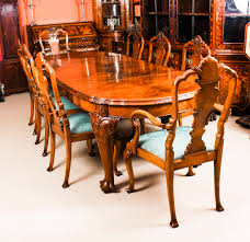 Antique Edwardian Queen Anne Revival Dining Table & 8 Chairs C.1900 Simmons Upholstery 500959 Heirloom Fniture Black Walnut Ding Table Bentley Designs Lyon Extending Table 6 Oiive Grey Leather Chairs Costco Uk Royce Set B 14 Camel Group Nostalgia Round Extension Starburst Dark Tables Custmadecom And Chairs Chair By Svegards Of America Argos Ava With 4 In Bucksburn Aberdeen Gumtree To Solid Jupe Hidden Leaves