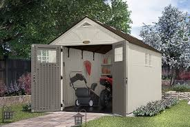 Suncast Tremont Shed Accessories by Amazon Com Suncast Tremont 13 Ft 2 3 4 In X 8 Ft 4 1 2 In