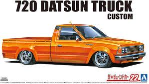 100 Datsun Truck Amazoncom Aoshima 124 Scale Kit 58404 720