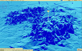 Where Did The Edmund Fitzgerald Sank Map by Google Ocean Marine Data For Google Maps Google Earth